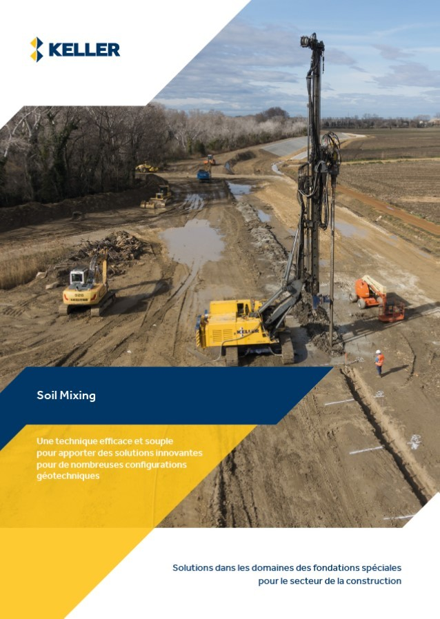 Brochure technique Soil Mixing image