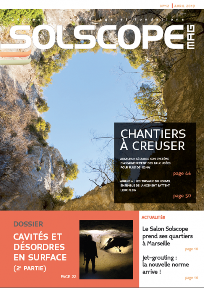 Article Solscope avril 2019 Page de garde